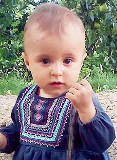 Уля Ставицкая, полтора года, несовершенный остеогенез, требуется курсовое лечение. 1054620 руб.