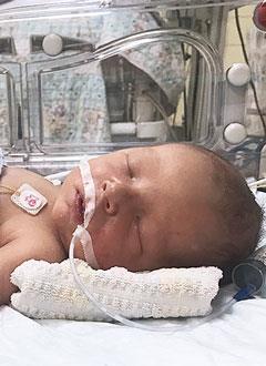 Арсений Мохов, 9 дней, врожденный порок сердца, коарктация (сужение) аорты, спасет операция. 379750 руб.
