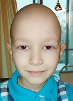 Егор Керов, 8 лет, остеосаркома левого бедра, состояние после ампутации, требуется протез бедра. 96115 руб.