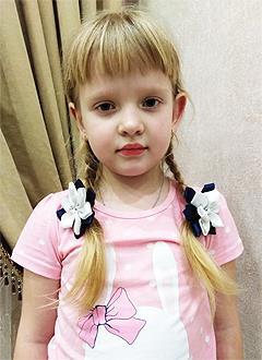 Вика Ракитина, 5 лет, врожденный порок сердца, спасет эндоваскулярная операция, требуется окклюдер. 117828 руб.