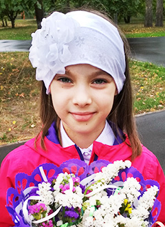 Арина Забирова, 8 лет, опухоль головного мозга, спасет протонная терапия. 2007250 руб.