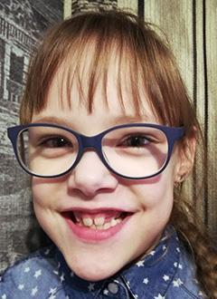 Арина Шолохова, 7 лет, детский церебральный паралич, требуется лечение. 199420 руб.