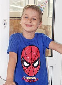 Илья Мисинев, 5 лет, органическое поражение центральной нервной системы, задержка моторного и речевого развития, требуется лечение. 199420 руб.