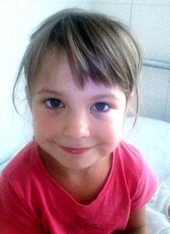 Лера Бондаренко, 6 лет, врожденный порок сердца, спасет эндоваскулярная операция. 342500 руб.