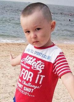 Арсений Гришин, 3 года, врожденная левосторонняя косолапость, рецидив, требуется лечение. 153440 руб.