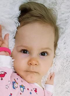 Маша Матвеева, 1 год, спинальная мышечная атрофия, требуется откашливатель, аппарат неинвазивной искусственной вентиляции легких и расходные материалы к нему. 1005640 руб.
