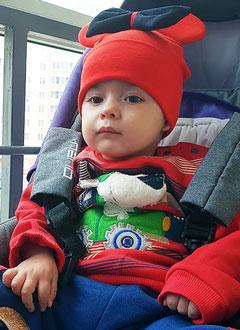 Маргарита Джамалова, 1 год, спинальная мышечная атрофия, требуется откашливатель, аппарат неинвазивной искусственной вентиляции легких и расходные материалы к нему. 1014537 руб.