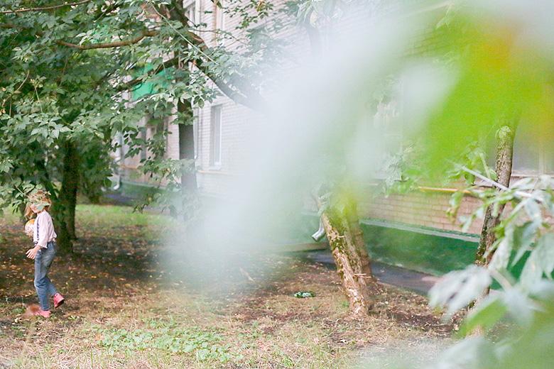 Территория рядом с домом 5 в Мирском переулке